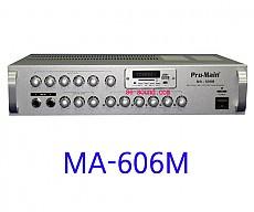 MA-606M   600W 앰프 채널별 스피커 음향 조절가능