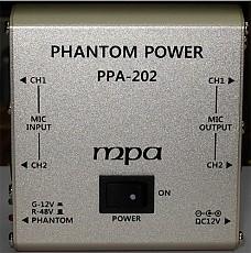 PPA-202   2채널 펜텀 파워