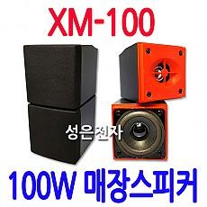 XM-100  100W 분리형 2WAY 미니스피커
