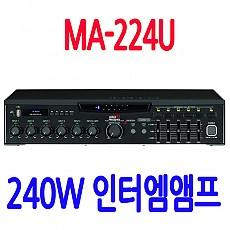 MA-224U 240W앰프,USB앰프
