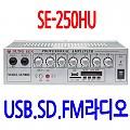 SE-250HU <FONT COLOR=RED> 50W+50W  2채널앰프</FONT>