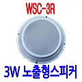 WSC-3R <B><FONT COLOR=RED> 3W 노출천정용스피커</FONT>